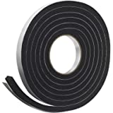 Frost King R338H Sponge Rubber Foam Tape 3/16-Inch, Black, R734H