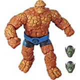Marvel Legends Series Fantastic Four 6-inch Collectible Action Figure Marvel's Thing Toy, Premium Design, 1 Accessory 2 Build