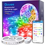 LED Strip Lights RGBIC, Govee 16.4FT Bluetooth Color Changing Rainbow LED Lights, APP Control with Segmented Control Smart Co