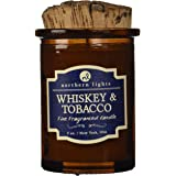 Northern Lights Candles 52601 Whiskey and Tobacco Spirit Candle, 5 oz, Brown