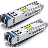 1.25G SFP Transceiver 1000Base-LX, 1310nm SMF, up to 10 km, for Cisco GLC-LH-SMD, Meraki MA-SFP-1GB-LX10, Ubiquiti, Mikrotik,