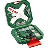 Bosch 34 Piece X-Line Drill and Screwdriver Bit Set (For Wood, Masonry, and Metal)