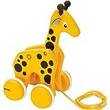 BRIO ( ブリオ ) プルトイ キリン 対象年齢 1歳~ ( 引き車 引っ張るおもちゃ 木製 知育玩具 ) 30200