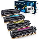 Valuetoner Compatible Toner Cartridge Replacement for HP 410A CF410A CF411A CF412A CF413A to use with Color LaserJet Pro MFP
