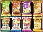 アマノフーズ バラエティギフト M‐100R 全8食(味わうおみそ汁:白みそ1食、なめこ1食、焼なす1食、豚汁1食/いつものおみそ汁:ほうれん草1食、とうふ1食、なす1食/たまごスープ)