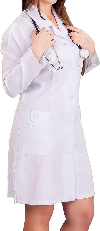 (アクアランド) AQUALAND 白衣 女医 医者 医師 診察衣 本物 衣装 メンズ レディースコスプレ コスチューム (Mサイズ, レディース ドクター)