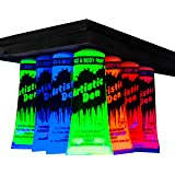 Uv Neon Glow Blacklight Face And Body Paint - Set Of 7 x 50 ml Tubes (7 x 50ml Tubes)