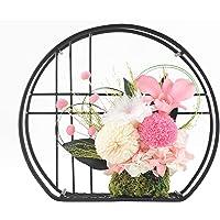 和風プリザーブドフラワー 桃音 優しいホワイト ピンク 母の日 誕生日 還暦 喜寿 米寿 白寿 傘寿 古希
