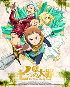 【Amazon.co.jp限定】七つの大罪 3(オリジナルデカ缶バッチver.3付)(完全生産限定版) [Blu-ray]
