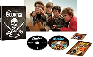 【Amazon.co.jp限定】(1000セット限定生産)グーニーズ 日本語吹替音声追加収録版 (4K ULTRA HD & HDデジタル・リマスター ブルーレイセット)スチールブック仕様(2枚組)[4K ULTRA HD + Blu-ray]