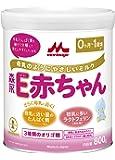 森永 E赤ちゃん 大缶 800g [0ヶ月~1歳 粉ミルク] ラクトフェリン 3種類のオリゴ糖
