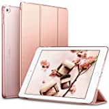 ESR Yippee Smart Case for The iPad Air 2, Smart Case Cover [Synthetic Leather] Translucent Frosted Back Magnetic Cover with A