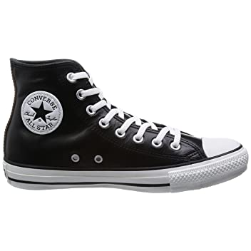 Leather All Star Chromexcel Hi: Black