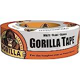 Gorilla GG60250 Duct Tape 48mm x 27m, White, 1 Pack (6025001)