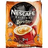 Nescafe Zero Sugar Added 2-in-1 Instant Coffee, 35x9g