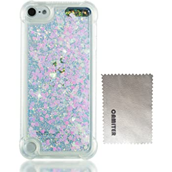 3d0fe509a9 Camiter Apple iPod Touch 5 tpu ケース 個性 スリム メッキ加工 ソフト iPod Touch 6 TPU シリコン  ケース ブリンブリン 流砂 グリッター シャイニング 可愛い 人気 ...