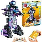 Anysun STEM Building Blocks Robot, Remote and APP Controlled Robot Creative Toys Educational Building Kits Intelligent Rechar