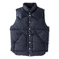 Down Vest Denim 450-502-05: Black