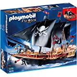 Playmobil 6678 Large Floating Pirate Raiders' Ship with 3 Pirates