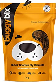 Buggy Bix Insect Dog Treats 75g (Black Soldier Fly)