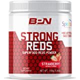 Bare Performance Nutrition, Strong Reds Superfood Powder, No Artificial Sweeteners, Antioxidant, Naturally Boost Energy, Frui