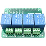 BitTradeOne Raspberry Pi用リレー制御拡張基板 4回路 [ 組立済 ] ADRSRU4