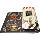 Art3d Premium Double-Sided Anti-Fatigue Chef Rug, Anti-Fatigue Comfort Mat. Multi-Purpose Decorative Standing Mat for The Kit