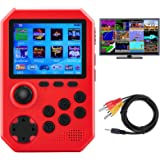 DELAM Handheld Game Console for Kids Adults, Retro Mini Game Player for Classic FC Games 3.0 inch Color Screen Rechargeable B