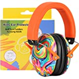 PROHEAR 032 Kids Ear Protection Safety Ear Muffs, NRR 25dB Adjustable Children Noise Canceling Hearing Protector, Perfect for