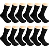 12 Pairs Men Dress Socks