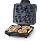 Dash DMMW400GBGT04 Multi Mini Four Waffle Maker: Perfect for Families and Individuals, 4 Inch Dual Non-stick Sides with Quick