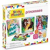 "ORB Sticky Mosaics Princesses Peach/Pink/Teal/Purple, 12"" x 2"" x 10.75"""