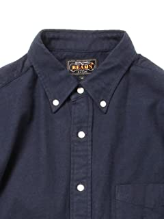 Solid Buttondown Shirt 11-11-3441-139: Navy