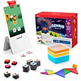 Osmo - Genius Starter Kit for Fire Tablet + Family Game Night - 7 Educational Learning Games for Spelling, Math & more - Ages