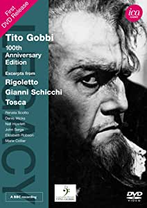 Tito Gobbi: 100th Anniversary Edition [DVD] [Import]