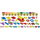 Play-Doh - Ultra Fun Factory 47 Piece Multipack - 12 x 85g tubs - Assorted colours of Non-Toxic PlayDoh Dough - Modeling Comp