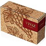 【Amazon.co.jp限定】 スペインのフルーティな上質赤ワイン バッグインボックス VIVAZ (ビバズ) [ 赤ワイン ミディアムフルボディ スペイン 3000ml ]