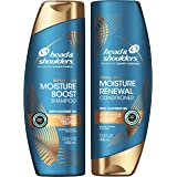 Head and Shoulders Shampoo and Conditioner, Moisture Renewal, Anti Dandruff Treatment and Scalp Care, Royal Oils Collection w