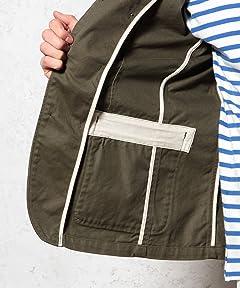 Cotton Work Jacket 3225-199-1882: Olive