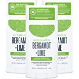 Schmidt's Aluminum Free Natural Deodorant for Women and Men, Bergamot + Lime with 24 Hour Odor Protection, Certified Cruelty