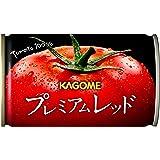 [Amazon限定ブランド] カゴメ プレミアムレッド 高リコピントマト50%使用(食塩無添加) 160g×30本