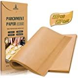 Hiware 200-Piece Parchment Paper Baking Sheets 12 x 16 Inch, Precut Non-Stick Parchment Sheets for Baking, Cooking, Grilling,
