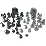 38 D&D Miniatures Fantasy Tabletop RPG Figures for Dungeons and Dragons, Pathfinder Roleplaying Games. 28MM Scaled Miniatures