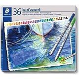 ステッドラー 色鉛筆 カラトアクェレル 水彩色鉛筆 36色 125 M36