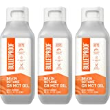 Brain Octane Premium C8 MCT Oil from Non-GMO Coconuts, 14g MCTs, 3 Pack 16 Fl Oz, Bulletproof Keto Supplement for Sustained E