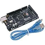 ELEGOOO MEGA2560 R3 Development Board Microcontroller ATmega2560 ATMEGA16U2 with USB Cable Compatible with Arduino IDE