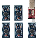 waves Arduino Pro Mini 互換ボード 328 5V 16MHz 国内配送 5個+USBシリアル セット