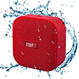MIFA A1 レッド Bluetoothスピーカー IP56防塵防水/コンパクト/おしゃれな見た目/TWS機能でステレ…