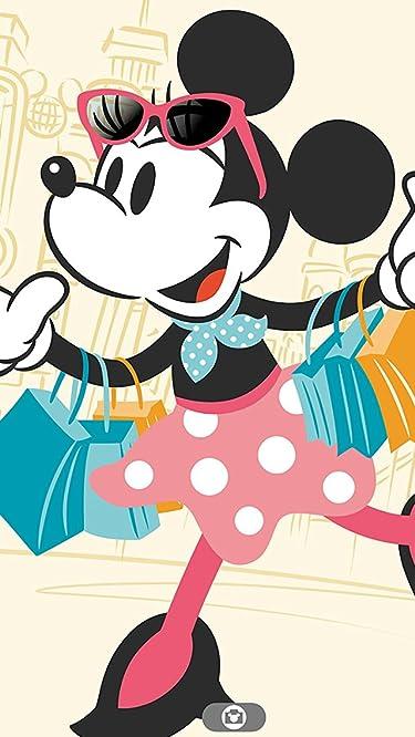 ディズニー  iPhone/Androidスマホ壁紙(640×1136)-1 - 買い物中のミニーマウス