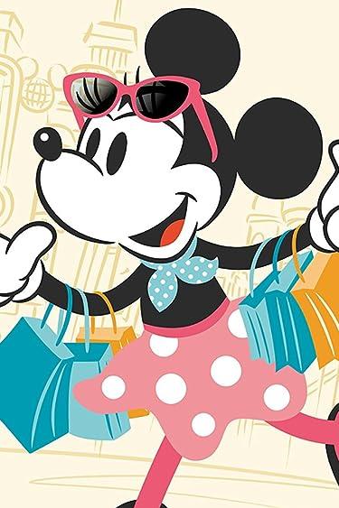ディズニー  iPhone/Androidスマホ壁紙(640×960)-6 - 買い物中のミニーマウス